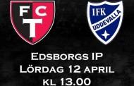 FCT A - IFK Uddevalla idag på Edsborgs A-plan