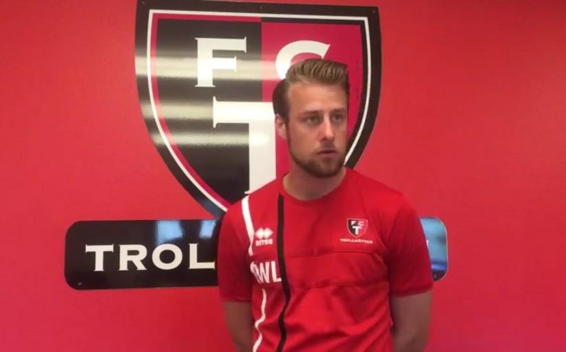 TV: William inför fredagens match mot Utsiktens BK