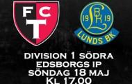 Inför FCT-Lund