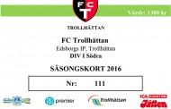 Julklapps-tips: FCTs säsongskort 2016