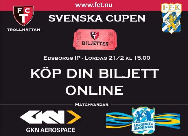 Biljetter till FCT - IFK Gbg 21/2