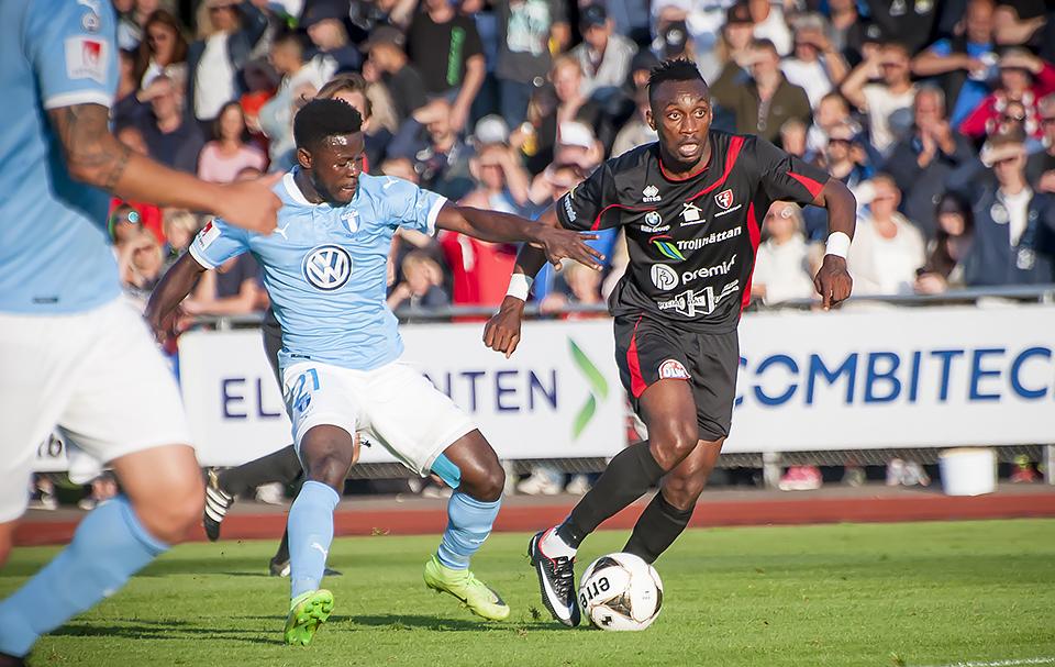MFF vann i Svenska Cupen - FCT var med i 87 minuter