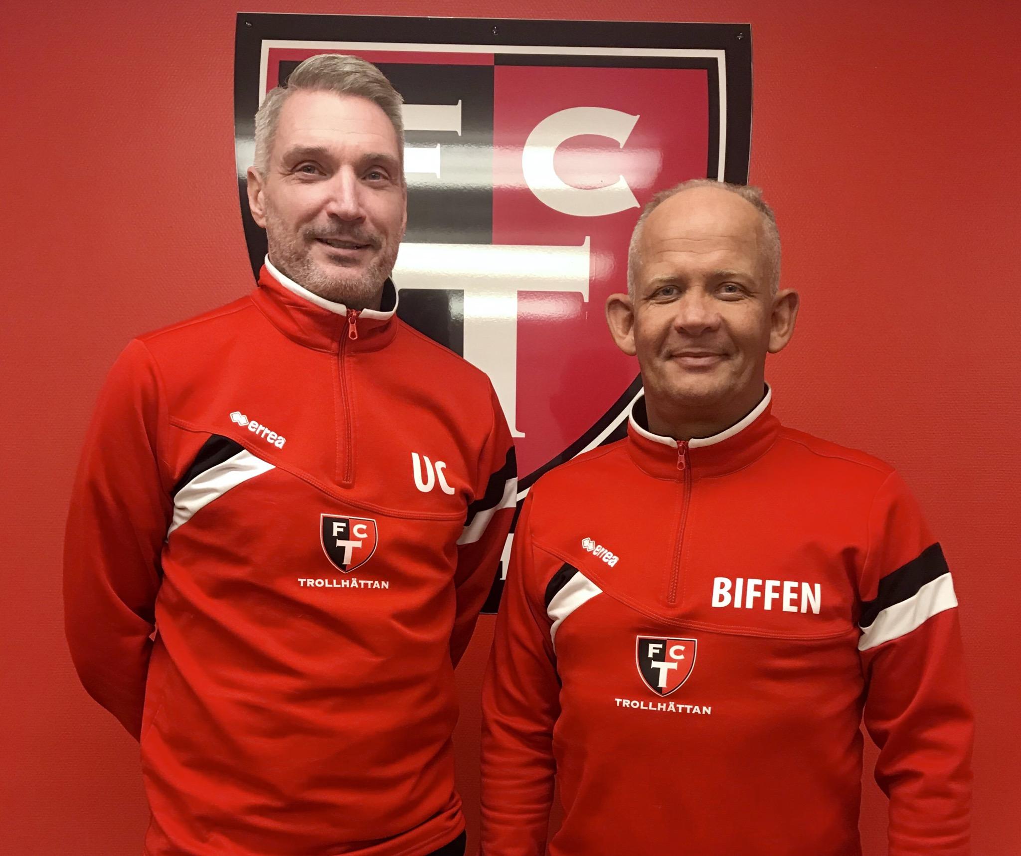 Ulf och Biffen jobbar på i FCT